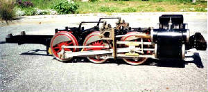 USRA Switch Engine Chassis-on-air
