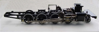 Live steam engines: chassis-on-air